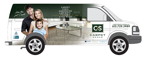 Carpet Sense Flooring Van